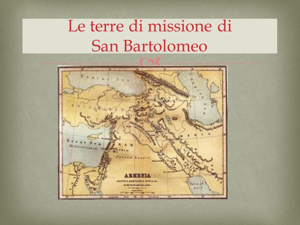 Le terre di missione di San Bartolomeo