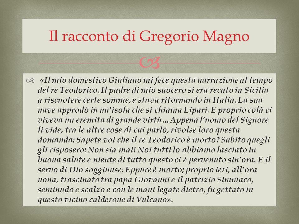 Il racconto di Gregorio Magno