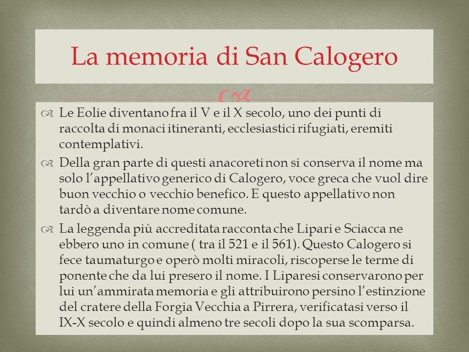 La memoria di San Calogero
