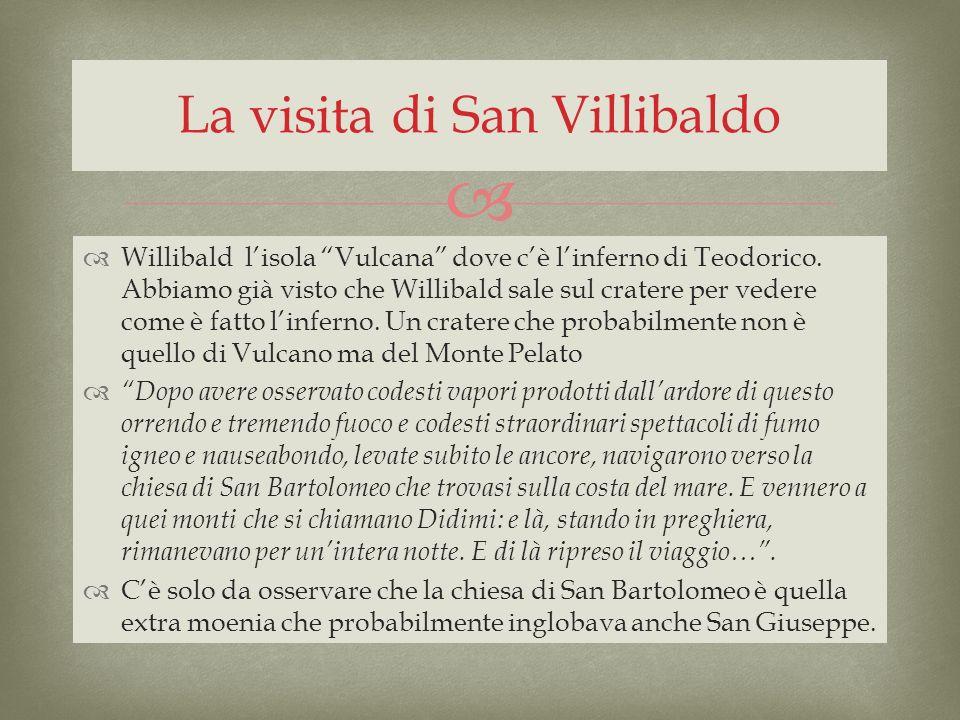 La visita di San Villibaldo