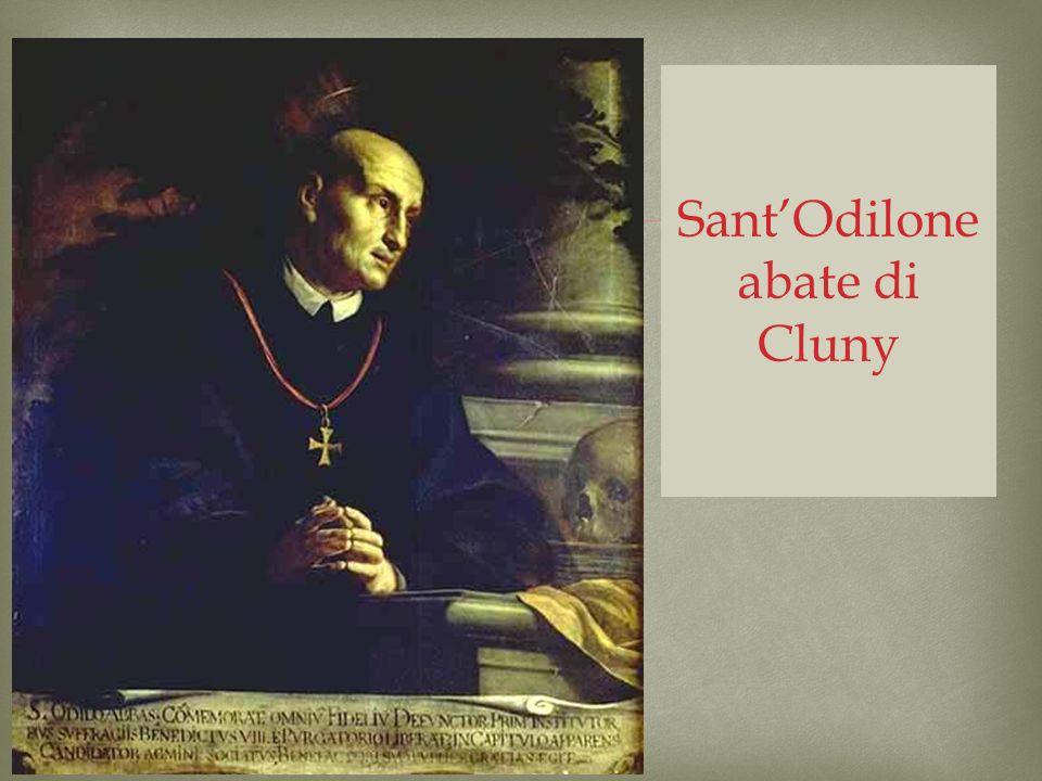 Sant'Odilone abate di Cluny