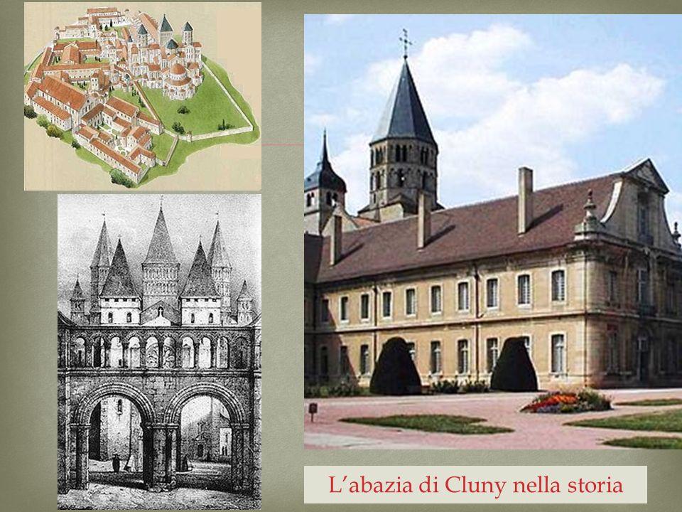 L'abazia di Cluny nella storia