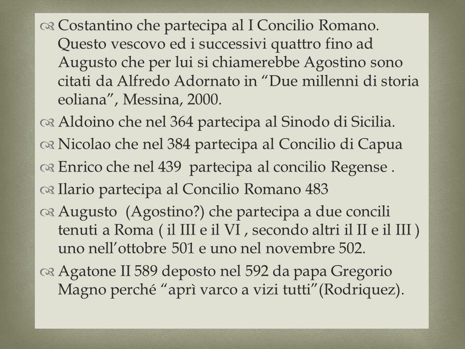 Costantino che partecipa al I Concilio Romano