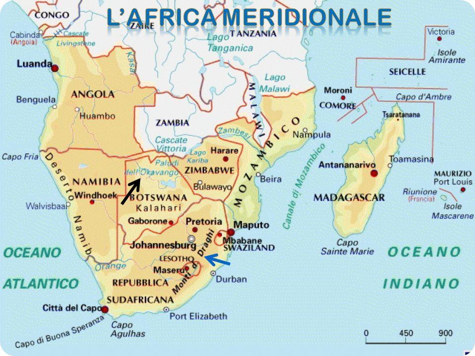 L'AFRICA MERIDIONALE