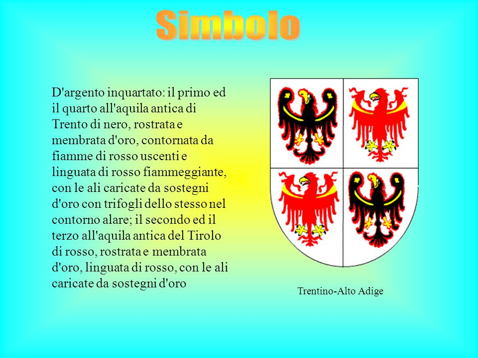 Simbolo Trentino-Alto Adige