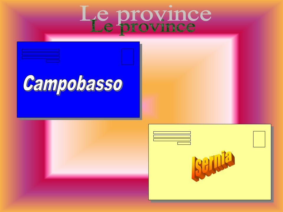 Le province Campobasso Isernia