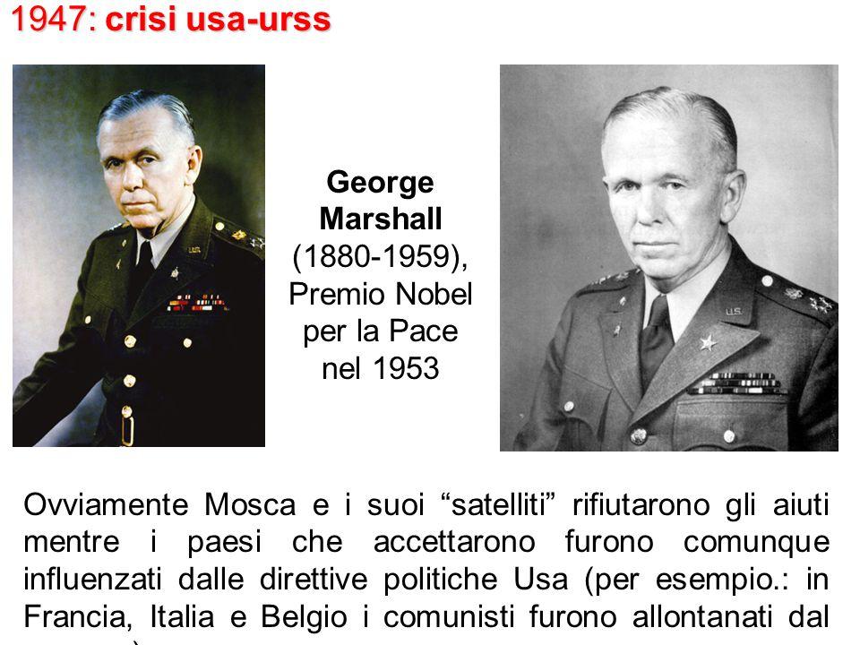 Premio Nobel per la Pace nel 1953