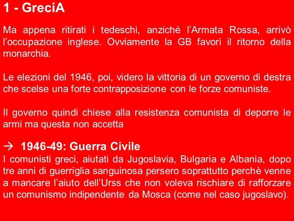 1 - GreciA  1946-49: Guerra Civile