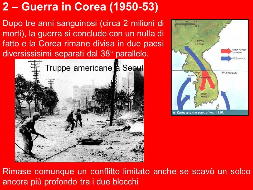 2 – Guerra in Corea (1950-53)