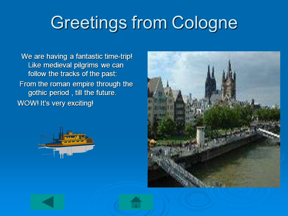 Greetings from Cologne