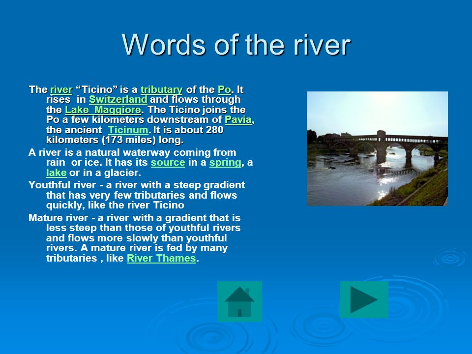 Words of the river