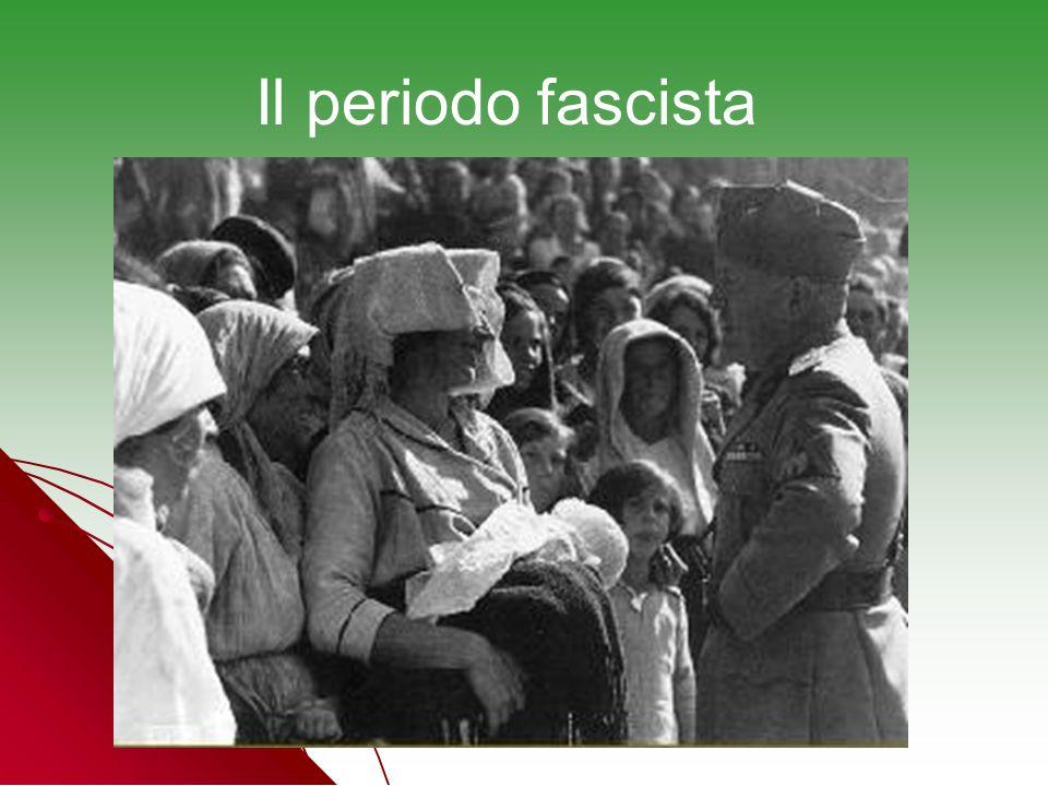Il periodo fascista