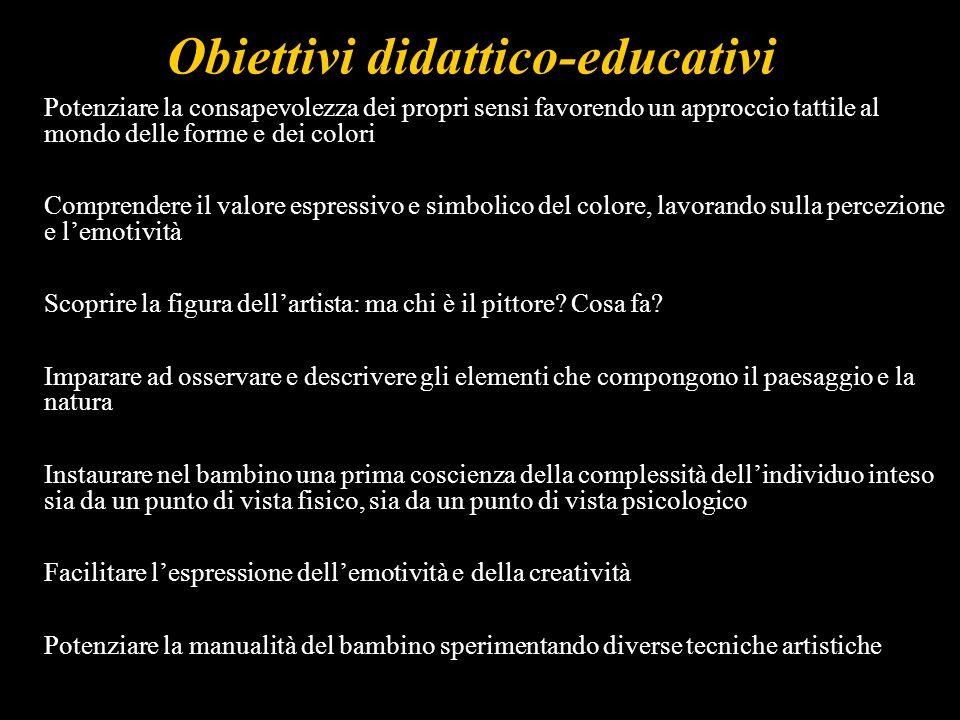 Obiettivi didattico-educativi