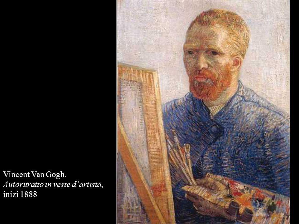 Vincent Van Gogh, Autoritratto in veste d'artista, inizi 1888