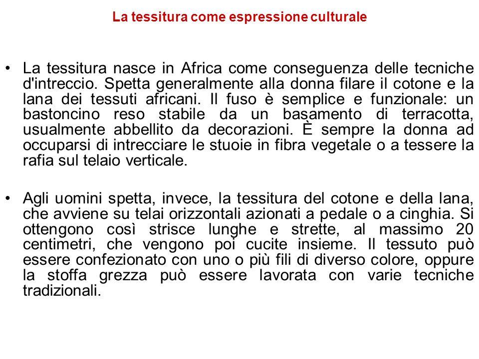 La tessitura come espressione culturale