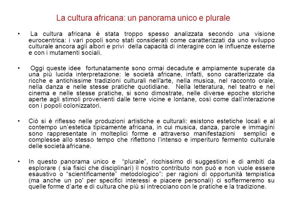 La cultura africana: un panorama unico e plurale