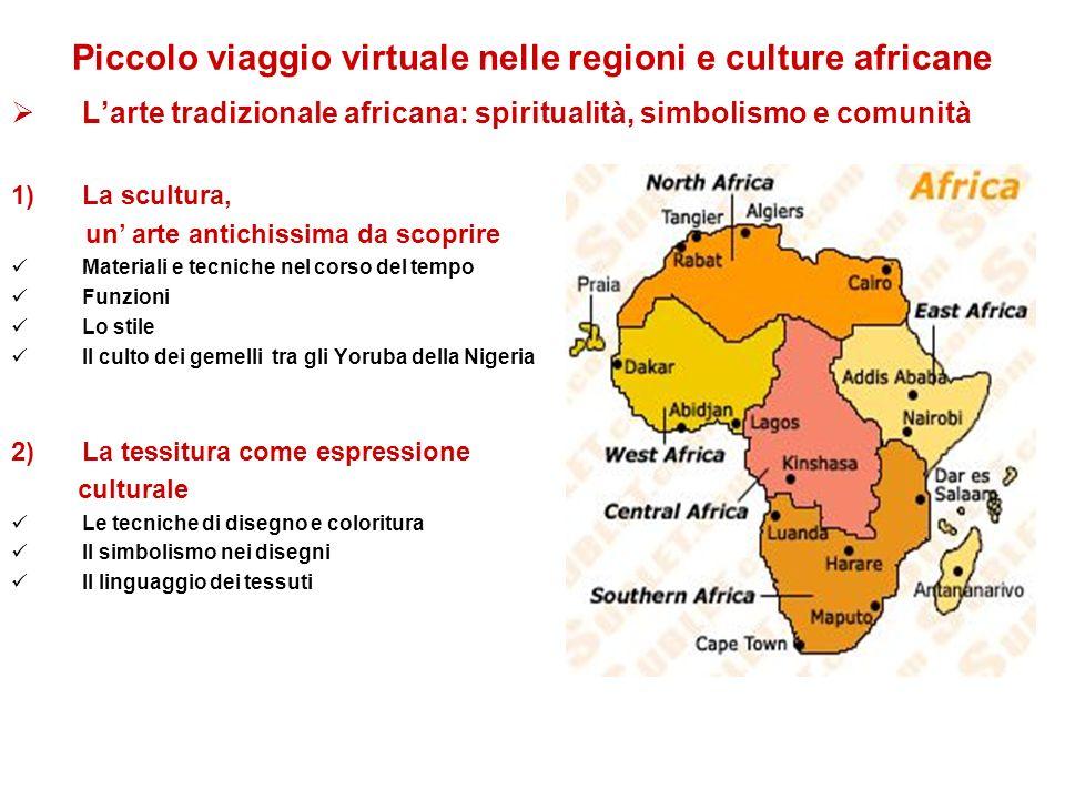 Piccolo viaggio virtuale nelle regioni e culture africane