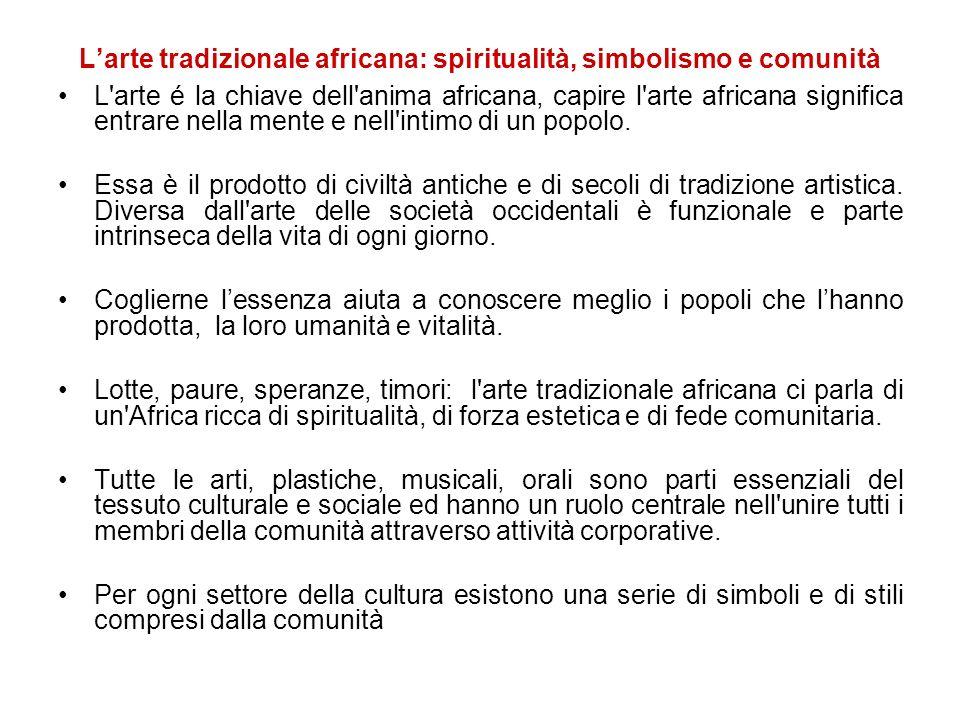 L'arte tradizionale africana: spiritualità, simbolismo e comunità