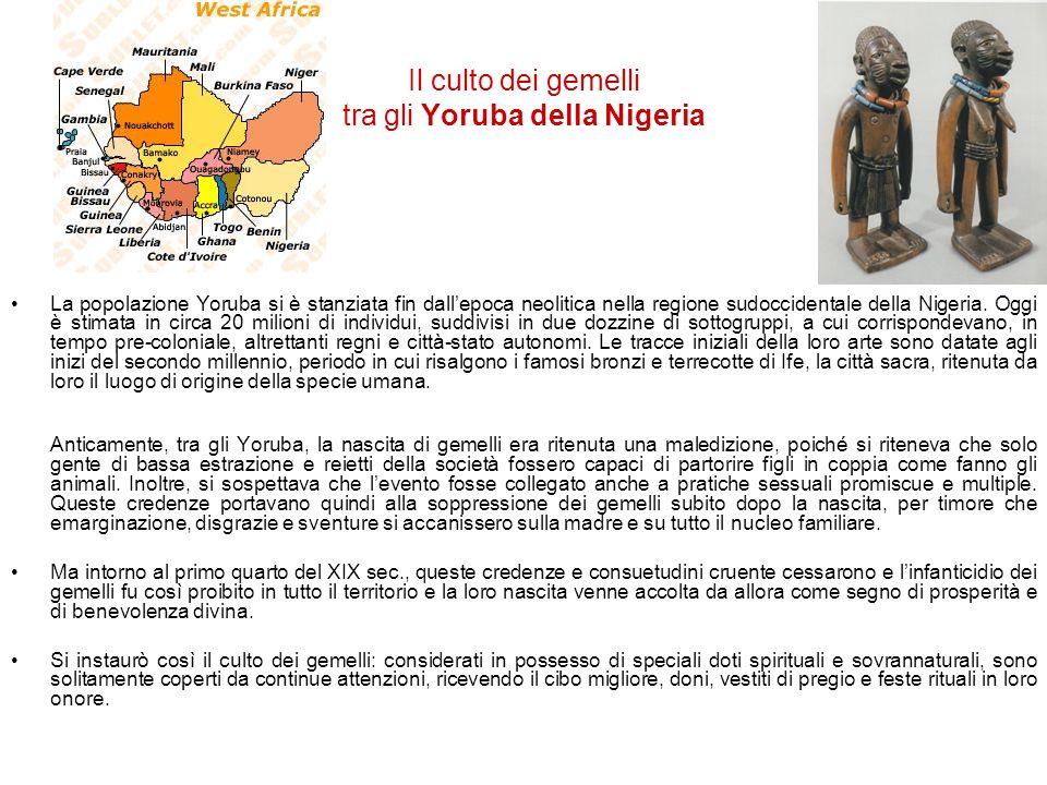 Il culto dei gemelli tra gli Yoruba della Nigeria