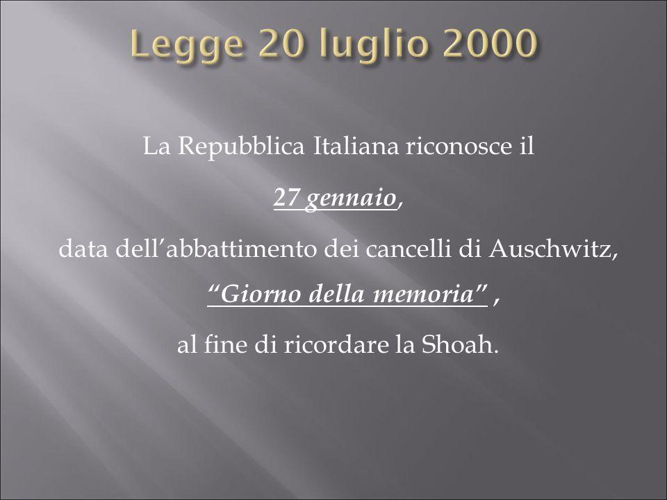 Legge 20 luglio 2000