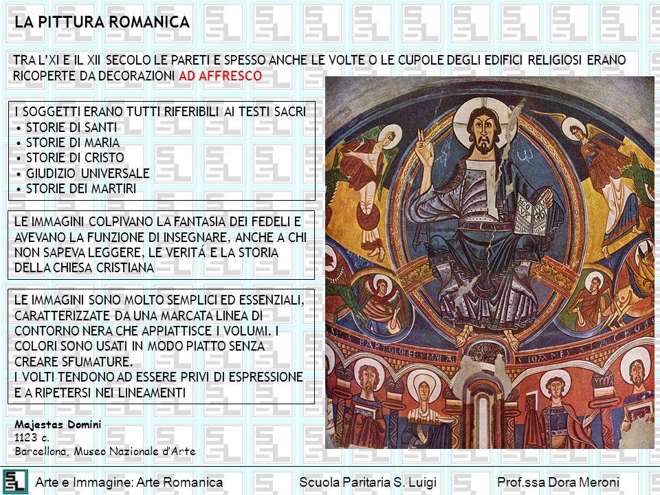 LA PITTURA ROMANICA