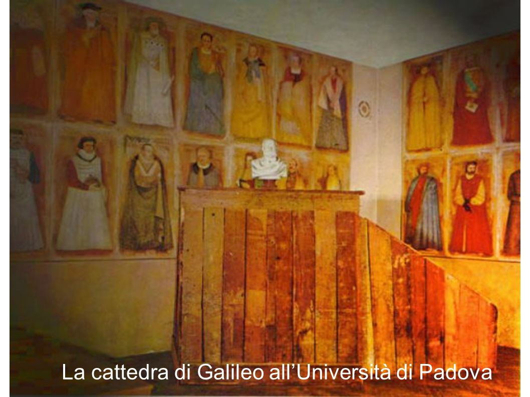 La cattedra di Galileo all'Università di Padova