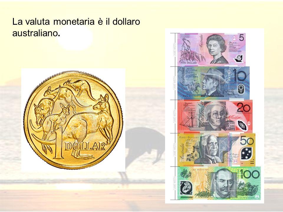 La valuta monetaria è il dollaro australiano.