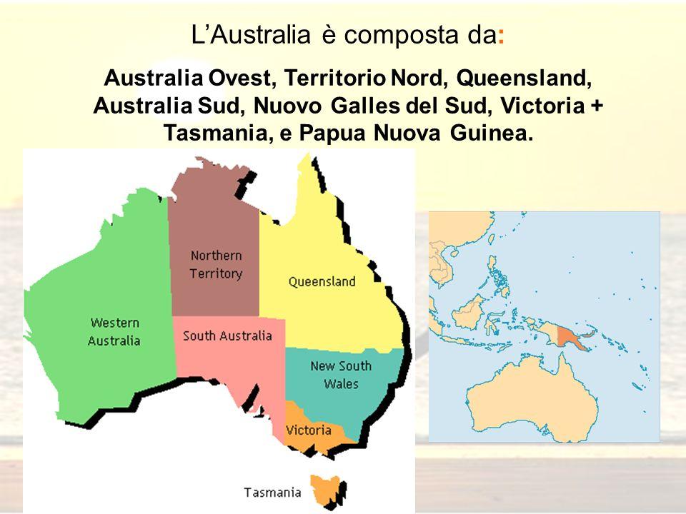 L'Australia è composta da: