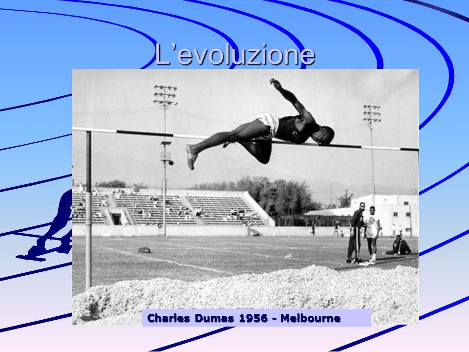 L'evoluzione Charles Dumas 1956 - Melbourne