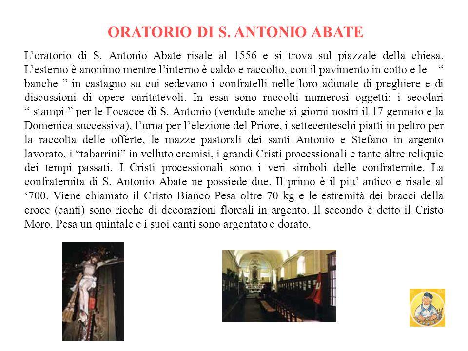 ORATORIO DI S. ANTONIO ABATE