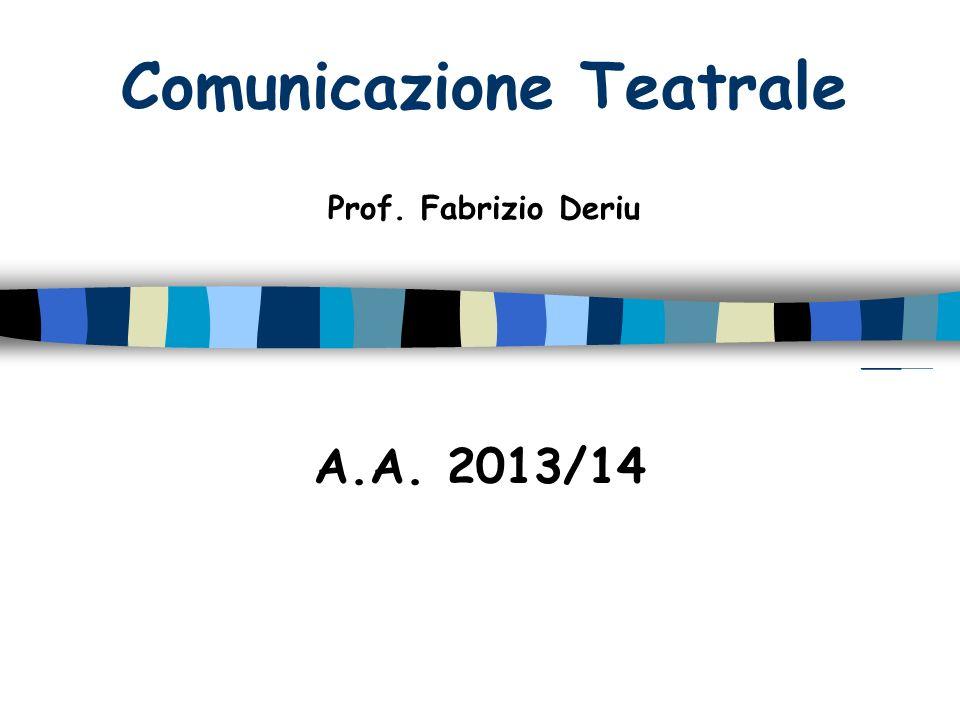 Comunicazione Teatrale