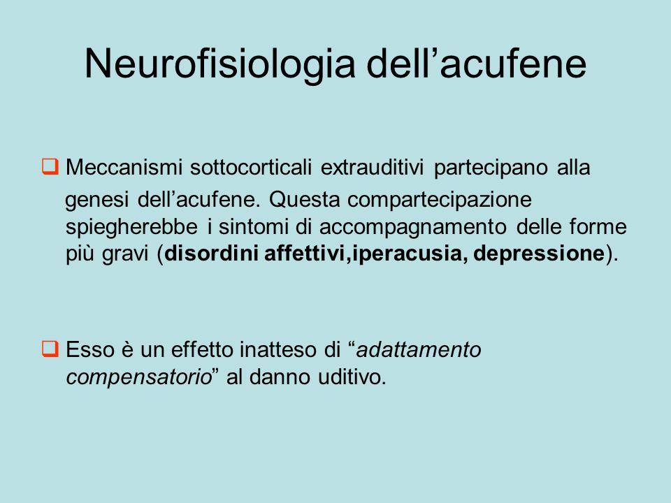 Neurofisiologia dell'acufene