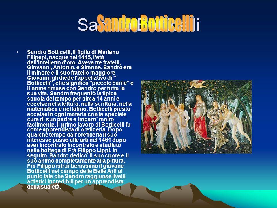 Sandro Botticelli Sandro Botticelli