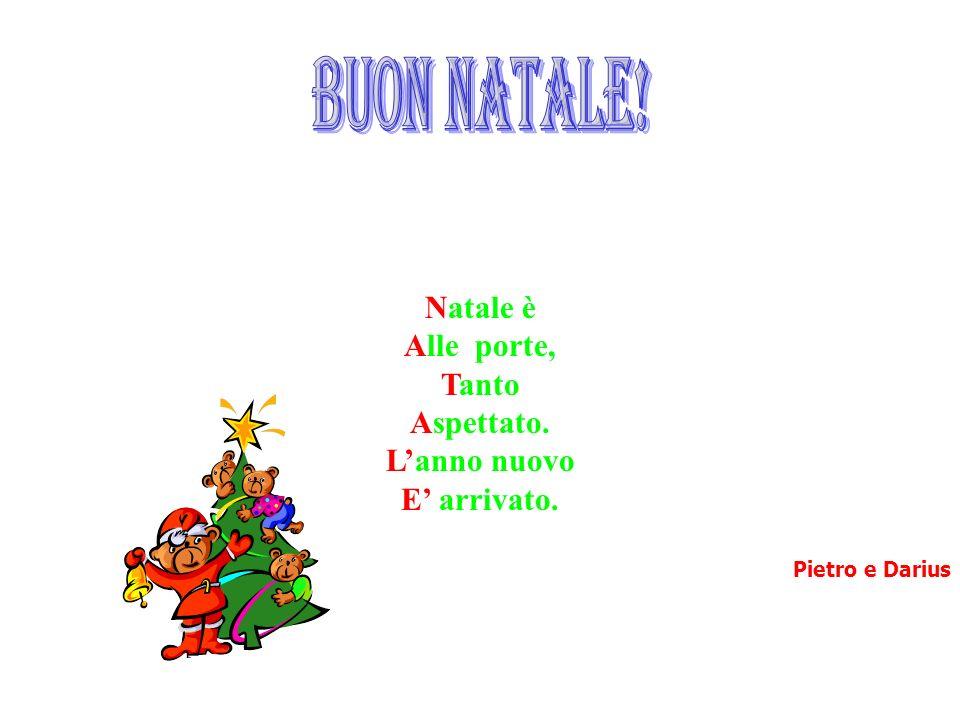 buon natale! Natale è Alle porte, Tanto Aspettato. L'anno nuovo
