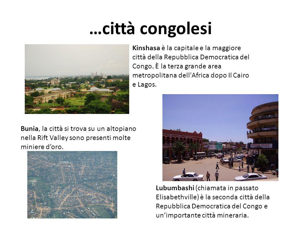 …città congolesi
