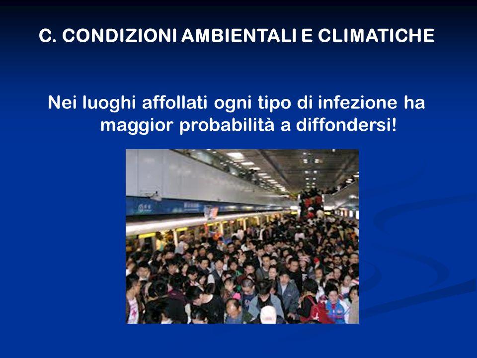 C. CONDIZIONI AMBIENTALI E CLIMATICHE