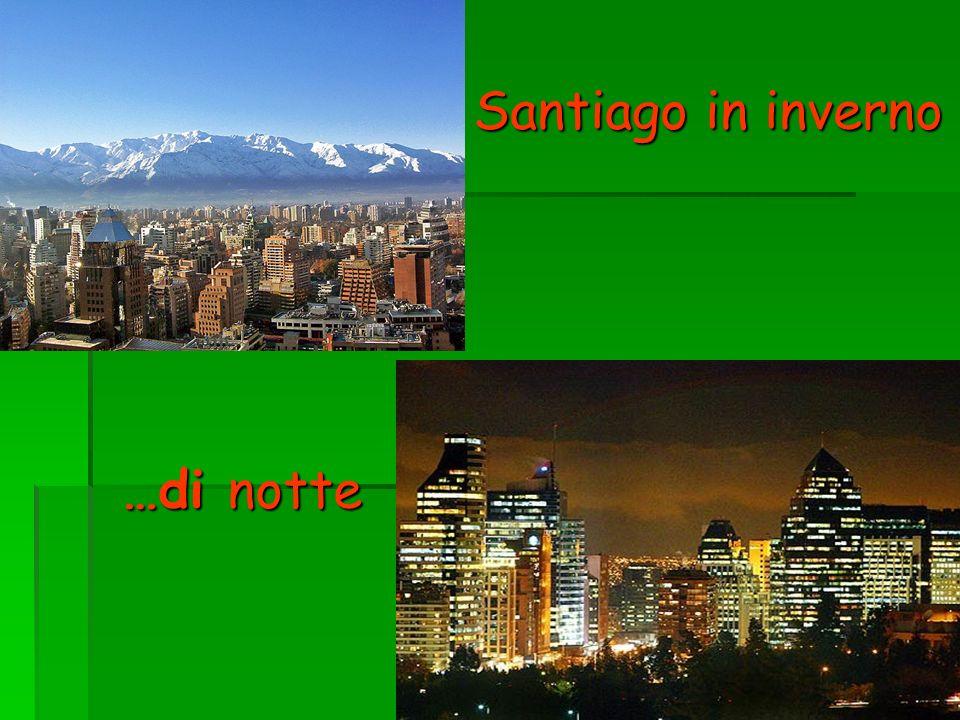 Santiago in inverno …di notte