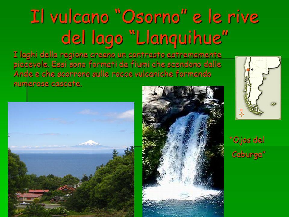 Il vulcano Osorno e le rive del lago Llanquihue