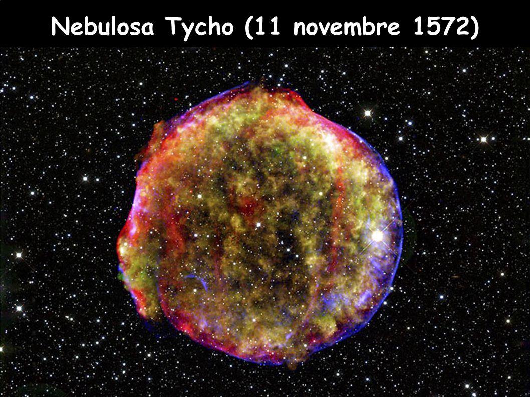 Nebulosa Tycho (11 novembre 1572)