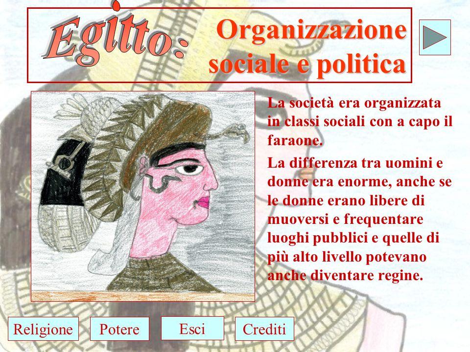 Organizzazione sociale e politica