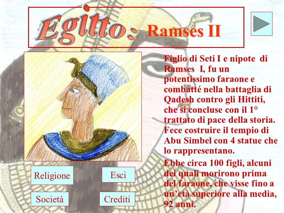 Egitto: Ramses II.
