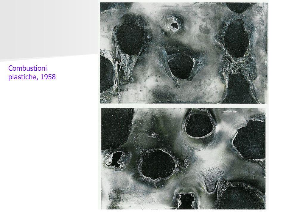 Combustioni plastiche, 1958