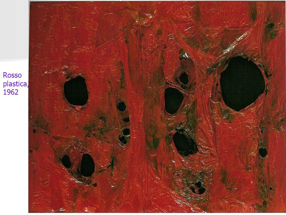 Rosso plastica, 1962