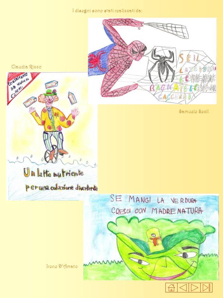 I disegni sono stati realizzati da: