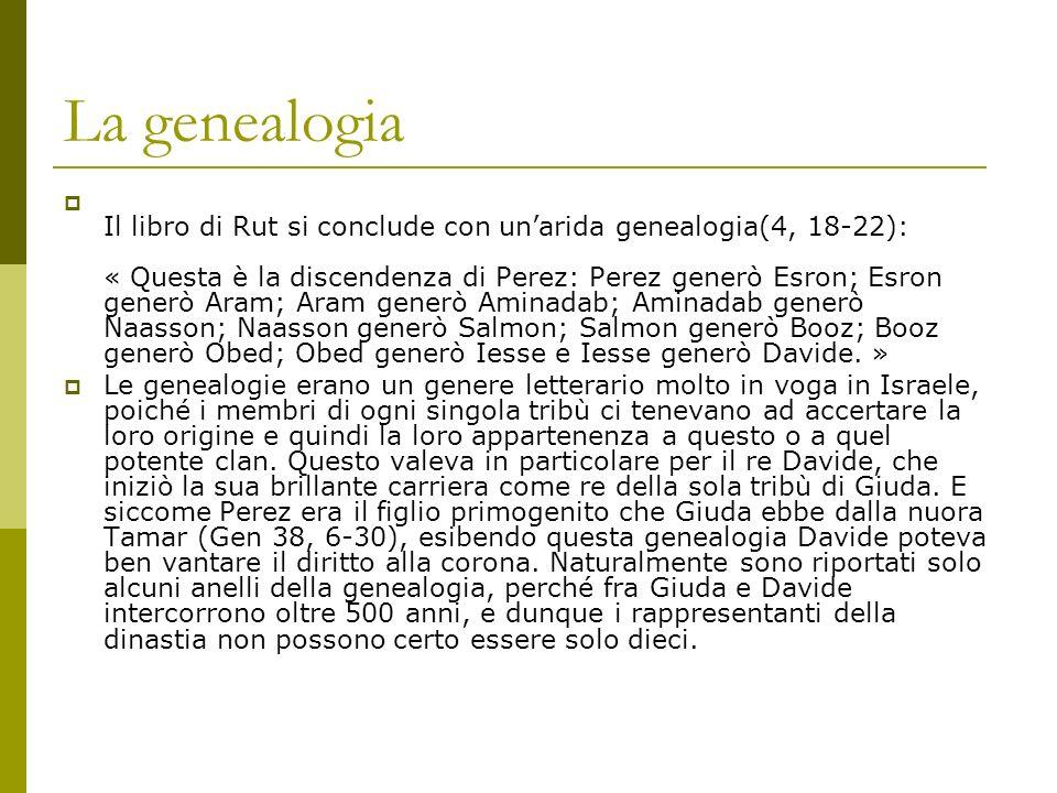 La genealogia