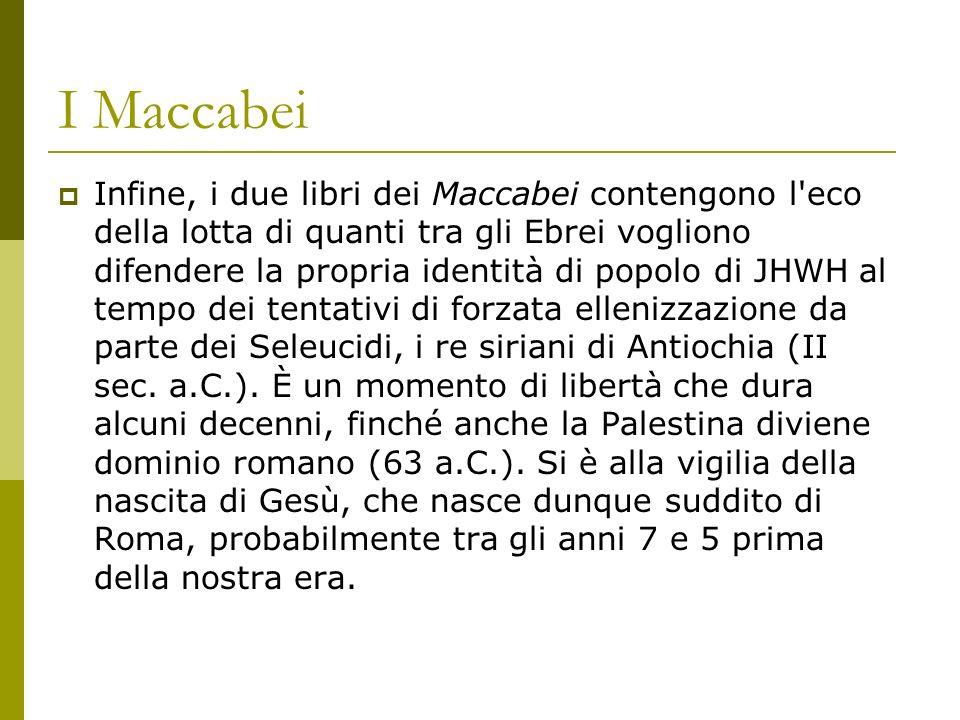 I Maccabei