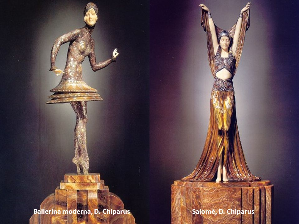 Ballerina moderna, D. Chiparus