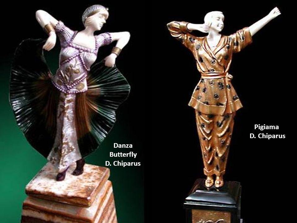 Pigiama D. Chiparus Danza Butterfly D. Chiparus