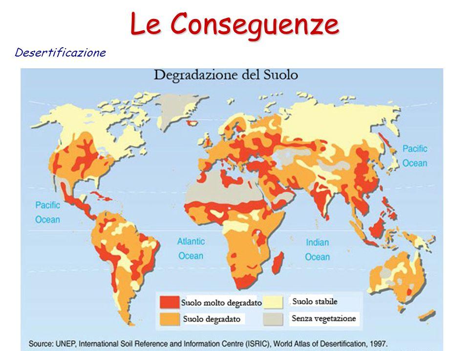 Le Conseguenze Desertificazione