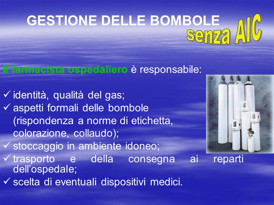 GESTIONE DELLE BOMBOLE